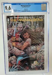 WALKING DEAD #157 CGC 9.6 GRADED 2016 ARTHUR ADAMS INTERLOCKING VARIANT COVER