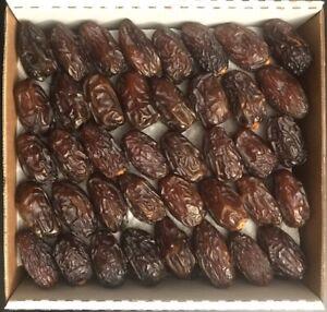 Organic Fresh Juicy Medjool Dates Harvest 2020 Quality Premium Dates 5LBS Case