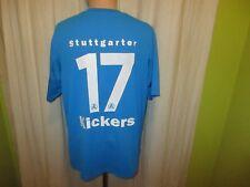 "Stuttgarter Kickers Original umbro Heim Trikot 2011/12 ""GAZI"" + Nr.17 Gr.XL"