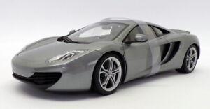 Autoart 1/18 Scale Model Car 76007 - McLaren 12C - Silver