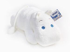 Moomin Stuffed Plush Soft Toy - Hoa Hoa Moomin- Lying Moomin, 40 cm ( 16 inch )