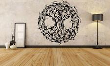 Wall Room Decor Art Vinyl Sticker Mural Decal Celtic Ancient Pattern Tree FI890