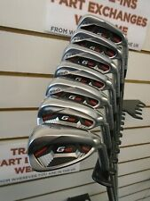 1 SET ON EBAY,COVERED FROM NEW,PING G410 4-PW IRONS BLUE LIE we value yours