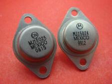 5PAIR MJ15024 + MJ15025 AUDIO TRANSISTORS TO-3 NEW