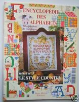 ENCYCLOPEDIE DES ALPHABETS N° 3 -  CAMPAGNE style COUNTRY
