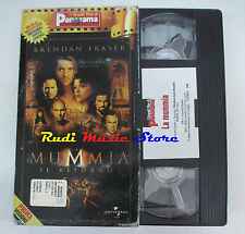 film VHS LA MUMMIA 2 IL RITORNO CARTONATA PANORAMA UNIVERSAL (FP3**) no dvd