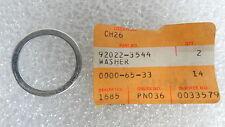 Kawasaki NOS NEW  92022-3544 Washer Drifter Snowmobile Snow 1980-81