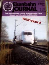 Eisenbahn Journal 5 1988 -- Pendolino fuhr nach Hof