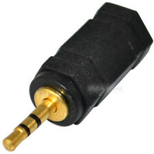 3.5mm Female Jack to 2.5mm Male Plug Audio Adapter Converter M/F Gold Plated
