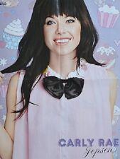 CARLY RAE JEPSEN - A2 Poster (XL - 42 x 55 cm) - Clippings Fan Sammlung NEU