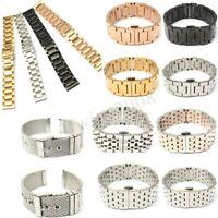 18/20/22/24mm Bracelet de Montre Boucle Déployant acier inoxydable Watch Bande