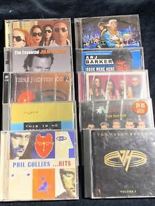Bulk 10 CD Lot - Various Artist