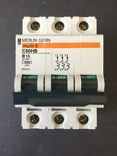 Merlin Gerin Multi 9 C60HB B16 16A 3 Phase MCB