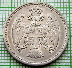 SERBIA KINGDOM PETAR I 1912 20 PARA