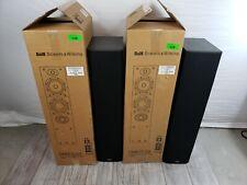 B&W DM603 S3 Floor Standing Loudspeaker System Pair, Black Ash 2.5 Way System