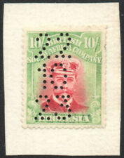 Rhodesia 1922-4 10s pale crimson & pale yellow-green, SG.309, fiscally used
