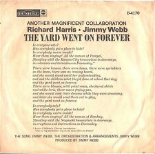 RICHARD HARRIS--PROMO ONLY PICTURE SLEEVE ONLY--(THE YARD WENT ON FOREVER)---PS-