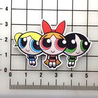 """Powerpuff Girls 5"""" Wide Vinyl Decal Sticker BOGO"""