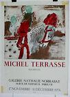 Michel Terrasse Affiche Lithographie Mourlot 1976