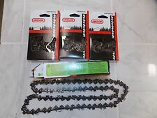 "4 22BPX074G Oregon 18"" chainsaw chains.325 .063 74 DL replace 26RMC 74 L74"