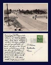 US MICHIGAN MACKINAW CITY MOTORCYCLES & CLASSIC CARS MAR 31 1949 TO SOUTHSIDE TN