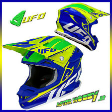 CASCO CROSS ENDURO MOTARD UFO INTERCEPTOR KRYPTON TAGLIA L (59-60)