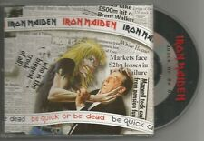 IRON MAIDEN Be Quick Or Be Dead 1992 EMI Records CD Single CDEM 229