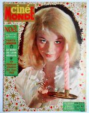 ►CINE MONDE 1426/1961-JILL HAWORTH-MARILYN MONROE-ELVIS PRESLE-JOHNNY HALLYDAY..