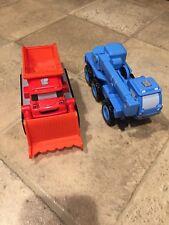 Talking Bob The Builder Toy Trucks Crane Kids Babies Euc Lofty & Muck