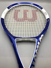 """WILSON NCODE 4 N4 Oversize Tennis Racquet 4 1/4"""" Grip Tennis Racquet"""