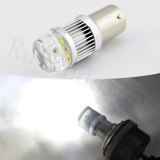 2 x White 1156 LED BA15S Break Tail Light Bulb Globe CREE 30W Car Signal Reverse