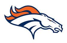 """Denver Broncos Sticker Decal indoor - outdoor - car-  truck - window 6"""" x 3.5"""""""