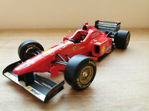 Ferrari F 310 1996 Maisto 1/20 Formula 1 1:20 Vintage, shell, Rare, Schumacher
