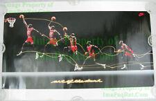 VHTF Vintage ☆ Nike Basketball Poster ☆ ART OF THE DUNK ☆ Michael Air Jordan