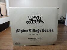 """Department 56 """"Kamm Haus"""" / Alpine Village Series"""