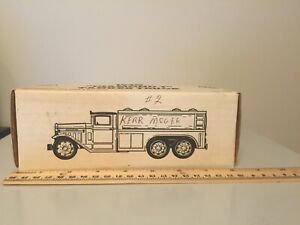 Ertl 1930 Diamond T Tanker Truck Bank Kerr McGee 1991 Stock #9111UO **BOX ONLY**