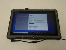 GETAC F110 G2 Rugged Tablet i7-5500u 2.4GHz 8G 128SSD Windows 10 (No PS)