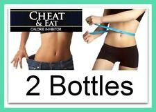 2x Forte Fat Bloccante Pillole Dimagranti Perdita di peso RACCOGLITORE calorie soppressore dell'appetito