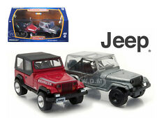 FIRST CUT 1987-95 JEEP WRANGLER YJ HOBBY EXCLUSIVE SET 1/64 BY GREENLIGHT 29822