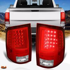For 09-17 Dodge Ram Pickup Red 3D LED L-Bar Tail Light Rear Brake/Reverse Lamp