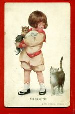 BY B.P. GUTMANN THE KIDNAPPER VINTAGE POSTCARD 564