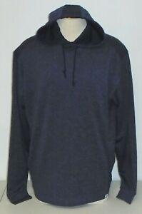 NWT Footjoy Lightweight Hoodie Sweatshirt, Large, Heather Navy, 25263