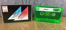 Snaky & Barrier Attack - SORD M5 CGL Vintage Cassette Game - Complete