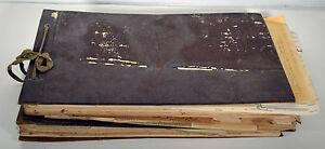 Set Vintage 1940s Mormon Arizona Temple Church Ledgers Pedigree Charts Records