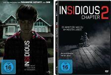 2 DVDs * INSIDIOUS CHAPTER  1 + 2 IM SET - Rose Byrne  # NEU OVP <+