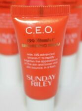 1-Sunday Riley C.E.O 15% Vitamin C Brightening Serum CEO .17oz./5ml Travel/Trial