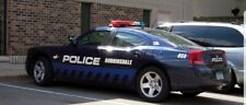 1/24 scale diecast police cars