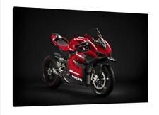 Ducati Panigale V4 Superleggera - 30x20 Inch Canvas Art Framed Picture Print