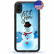 New Christmas Phone Case Snow man Cover For iPhone 11 Pro Max Xs XR 8 Plus 7