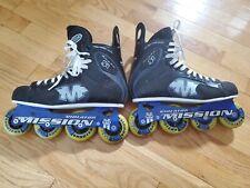 Mission Proto Si Violator (3.3) Inline Hockey Skates Roller Blades Size 9 D